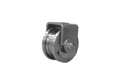 """Stainless H wheel(3½"""")"""